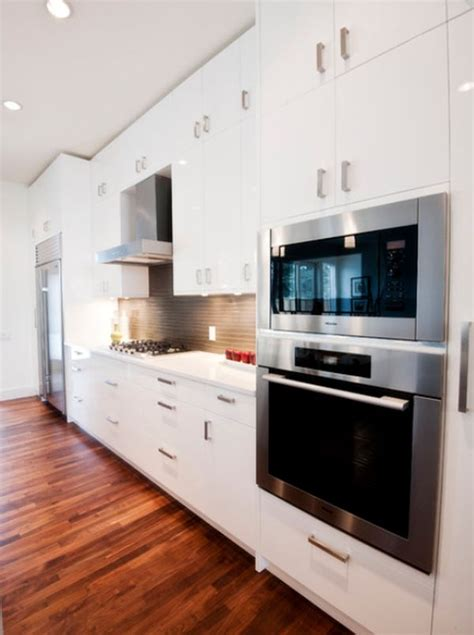 Ideas For Above Kitchen Cabinet Space - 6 of the most popular oven arrangements for the kitchen