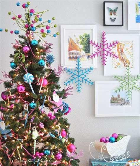 candy colored christmas tree centsational girl