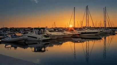Port Ferry Vodice Morning Resolution