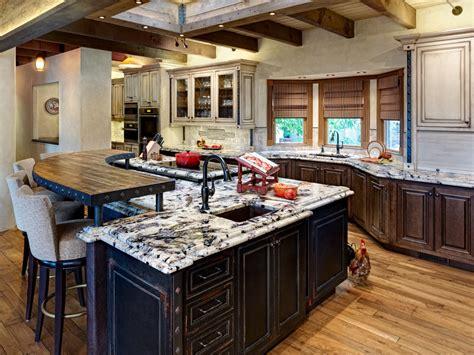 kitchen island with granite countertop 7 popular kitchen countertop materials midcityeast