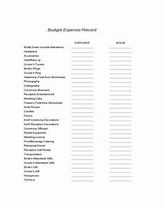 Sample Of Power Of Attorney Wedding Planning Worksheets Sample Free Download