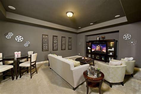 firethorne model home design  media room
