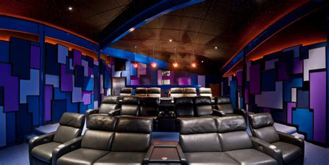 modern home theater contemporary home theater cleveland by environments by design