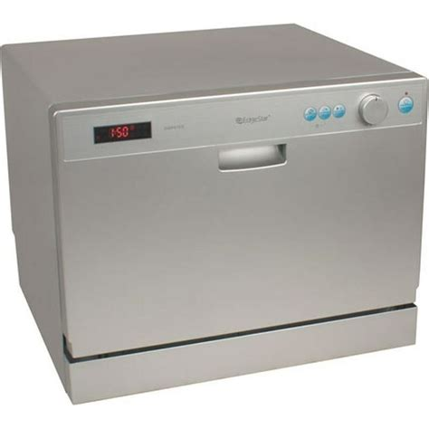 dishwasher with countertop portable compact countertop dishwasher silver energy