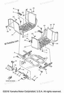 Yamaha Atv 2005 Oem Parts Diagram For Stand  Footrest
