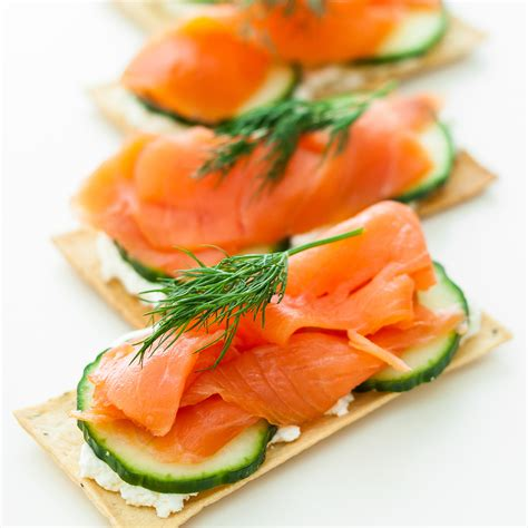 salmon canapes taste tests the best smoked salmon