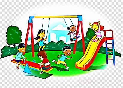 Playground Play Clipart Swing Equipment Space Clip