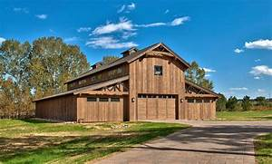 Pole Barn With Living Quarters Garage And Shed Rustic With