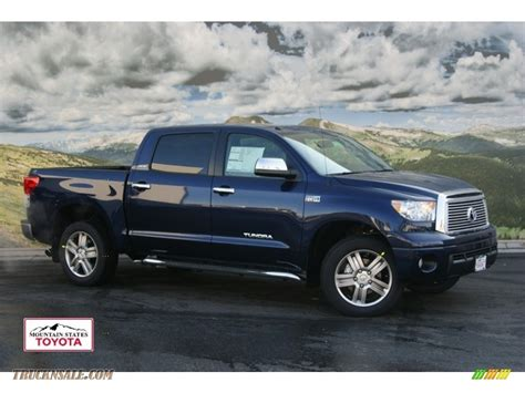 2012 Toyota Tundra Crewmax by 2012 Toyota Tundra Limited Crewmax 4x4 In Nautical Blue