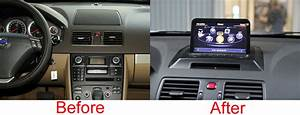 Volvo Xc90 Aftermarket Gps Navigation Car Stereo  2007