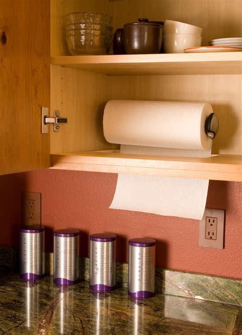 great ideas  hanging paper towels queen bee