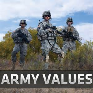 Army Values Selfless Service