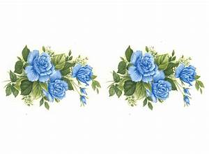 Sky Blue Rose Flowers Item # 1020 – Captive Decals