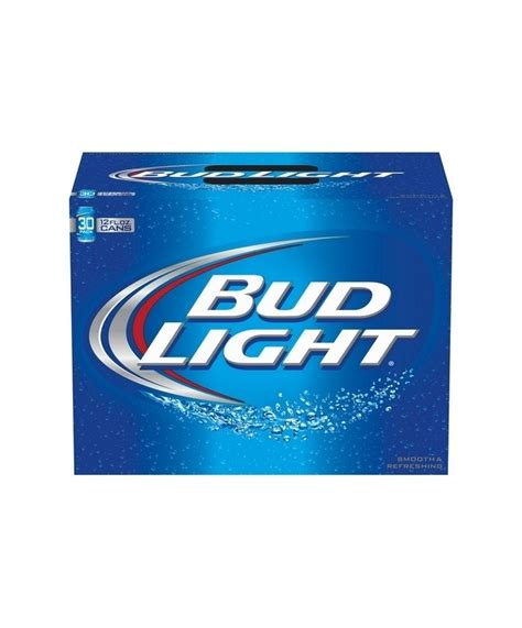 bud light 30 pack bud light 12oz 30 pack cans