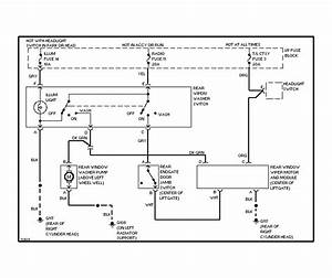 95 Blazer Rear Wiper Wiring Diagram - Blazer Forum
