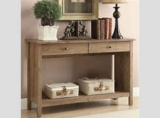 Rustic Foyer Table Furniture Piece — Home Design