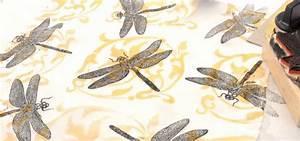 Stoff Selbst Bedrucken : stoff mit stoffstempelfarbe stempeln schablonen selbst bedrucken heindesign ~ Eleganceandgraceweddings.com Haus und Dekorationen