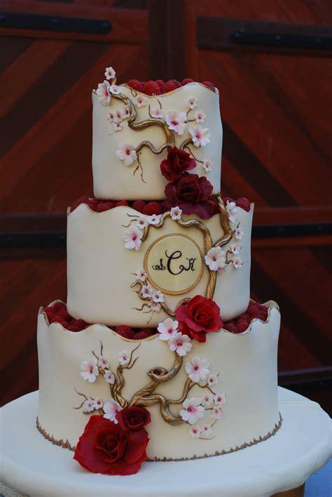 red blush cake