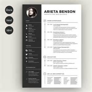 intima clean responsive resume template free clean cv resume by estartshop on creative market resume design cleaning