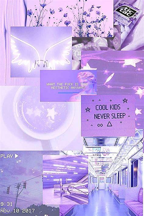 gambar aesthetic ungu