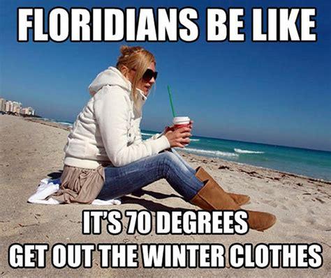 Florida Winter Meme - winter in florida
