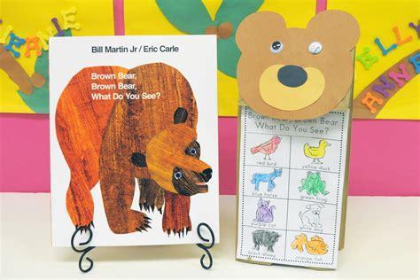 mrs ricca s kindergarten color days part 2 623 | Color Brown Bear Puppetweb