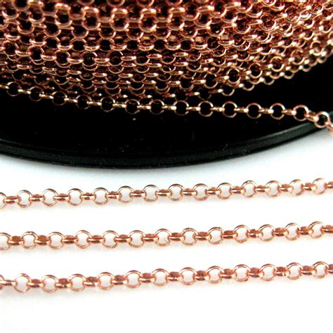rose gold  sterling silver mm rolo chain gold