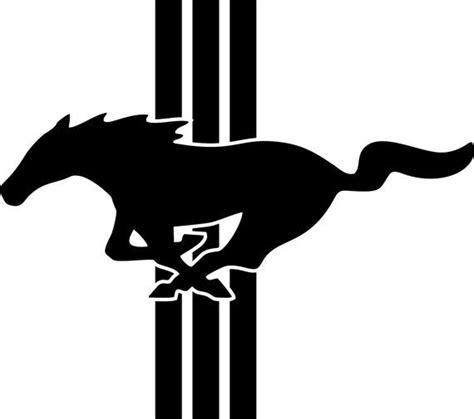 Ford Mustang Logo Emblem Vinyl By Freshcutcustomvinyl On