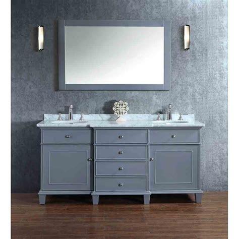 gray double sink vanity stufurhome cadence grey 72 quot double sink bathroom vanity