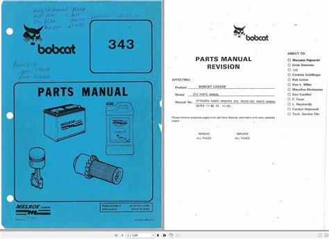 bobcat loader  parts manual auto repair manual forum heavy equipment forums