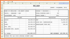10 salary pay sheet format salary slip With salary sheet template in excel