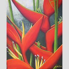 Tropical Plants  Annette James Artworks