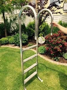 Pool Für Den Garten : pool leiter poolleiter edelstahl 170cm in m nchen sonstiges f r den garten balkon terrasse ~ Sanjose-hotels-ca.com Haus und Dekorationen
