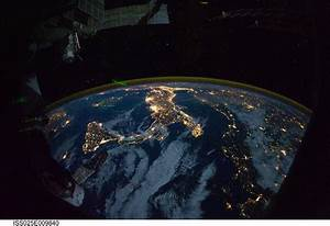 Europe, and Africa at Night (NASA, International Space ...
