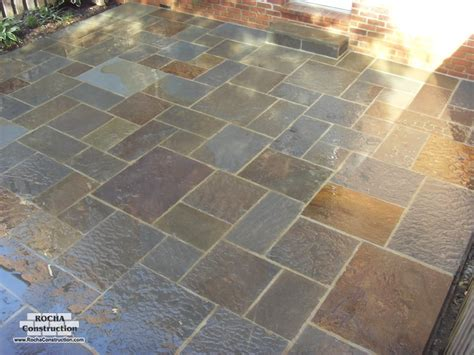 17 best images about square cut flagstone patios on