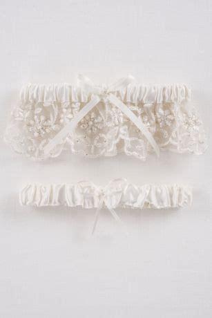 db exclusive beaded lace garter set davids bridal