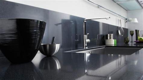 carrelage noir cuisine crédence cuisine en 47 photos idées conseils inspirations