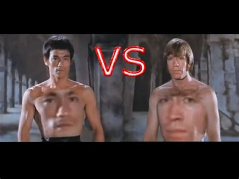 chuck norris and bruce lee fight youtube poop kacke bruce lee vs chuck norris epic fight