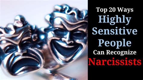 Top 20 Ways Hsp Can Recognize Narcissists Youtube