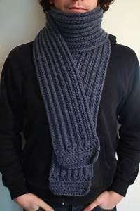 Echarpe Homme Tricot : echarpe en laine fine homme aqualogia ~ Melissatoandfro.com Idées de Décoration