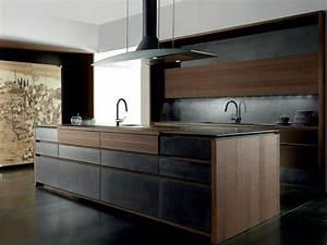 Hotte Pour Ilot Central : cuisine design italienne par toncelli en 40 photos top ~ Melissatoandfro.com Idées de Décoration