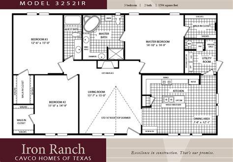 3 Bedroom Wide Floor Plans by Best Of 2 Bedroom Mobile Home Floor Plans New Home Plans