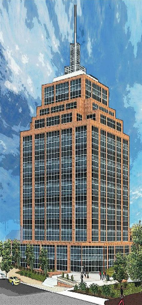 allentown developers proposed   story  city