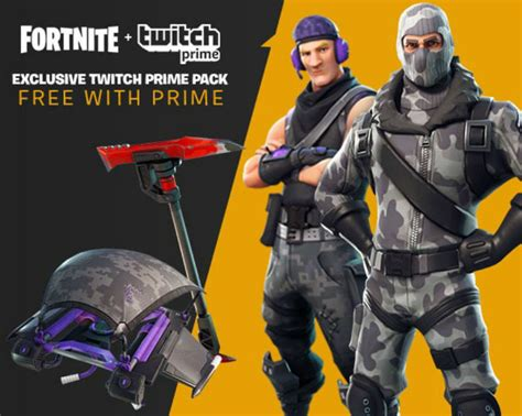 fortnite twitch prime pack reveal  loot coming