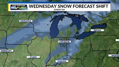 Weather Winter Wane Snow Wednesday Forecast