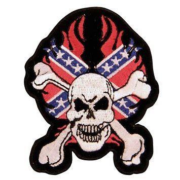 confederate skull  crossbones  patch dl grandeurs confederate rebel goods