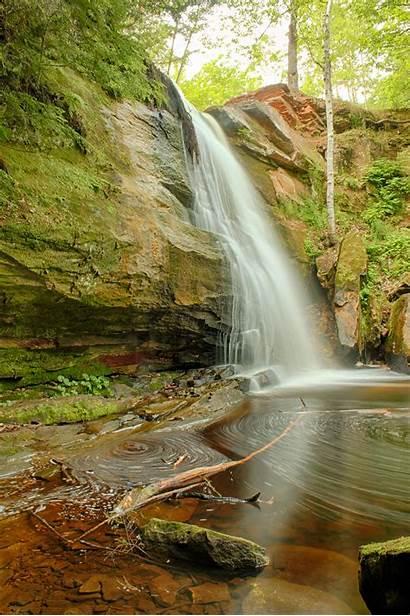 Michigan Falls Waterfalls Round Visit Hungarian Enchanting