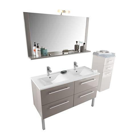 meuble de salle de bains castorama meuble sous vasque plan vasque miroir 233 clairant
