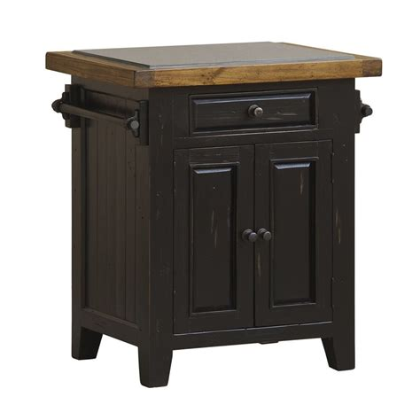 kitchen island shop shop hillsdale furniture black farmhouse kitchen island at