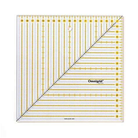"""Schreibe die erste bewertung für """"lineal 20 cm antworten abbrechen. Patchwork-Lineal Square 20 x 20 cm, Mit Lineal-Fibel ..."""